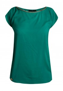 bluzka damska zielona