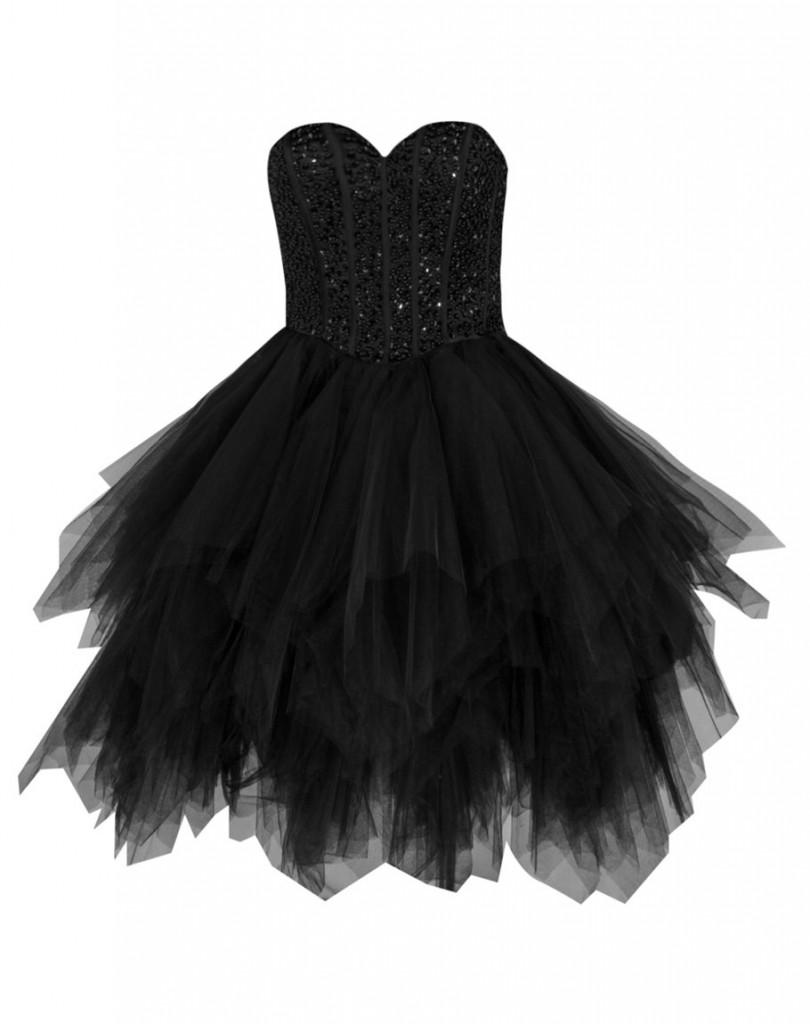 Ines. czerń - sukienka na sylwestra