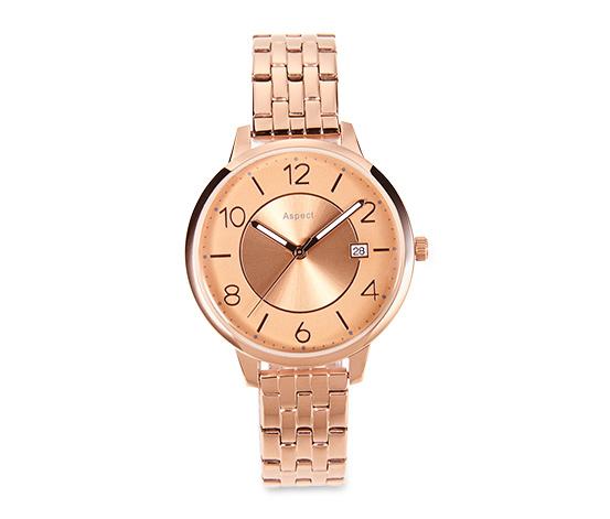 Damski zegarek ze stali nierdzewnej na rękę