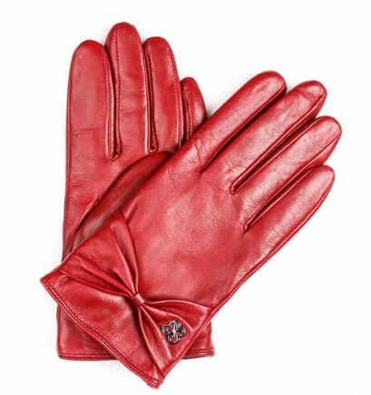 rekawiczki czerwone