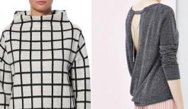 Ciepłe swetry na zimową porę